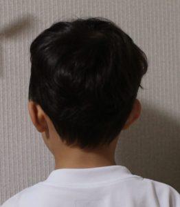 子ども 散髪 アシンメトリー