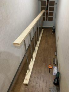廊下 DIY うんてい
