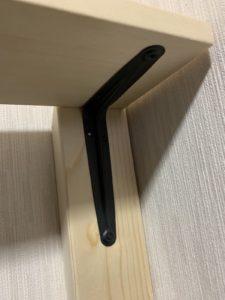 モニター 壁掛け ツーバイフォー つっぱり