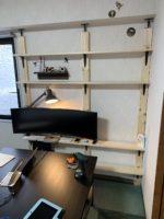 ラブリコ・ディアウォールでテレビが倒れる?モニターを壁掛けできる棚をツーバイフォー材でDIYした!#2組み立て編