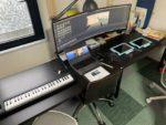 [リビング学習]机の配置を変えてスーパーウルトラワイドモニターが見やすくなりました。フィリップス499P9H1/11